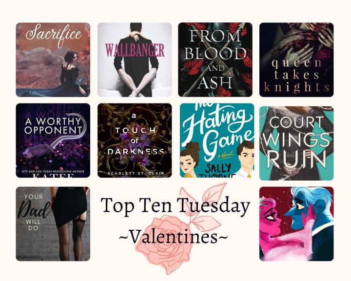 Top Ten Tuesday(Valentines)